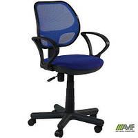 Кресло Чат/АМФ-4 сиденье А-10/спинка Сетка черная (механизм FreeStyle, макс. вес до 120 кг) ТМ AMF 025654