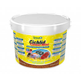 Сухой корм для цихлид Tetra Cichlid Color Mini, 10 л