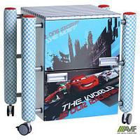 Тумба Дизайн Дисней Тачки Молния Маккуин гонки в детскую комнату для мальчика ТМ AMF 149003