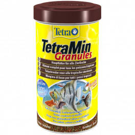 Сухой корм для декоративных рыб Tetra Min Granules, 250 мл