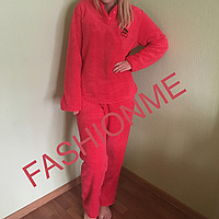 Махровая пижама женская, домашняя пижама, Турция