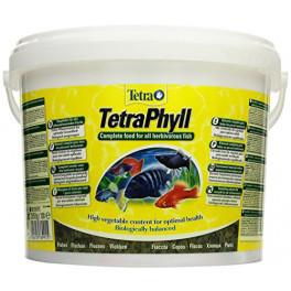 Корм для травоядных рыб Tetra Phyll, 10 л