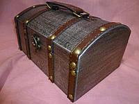 Деревянный сундук шкатулка 22х15х11 сантиметров
