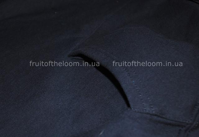 Глубоко Тёмно-синяя женская классическая толстовка с капюшоном