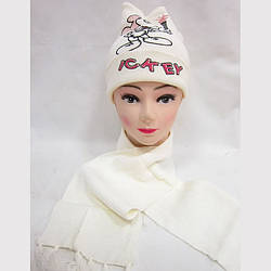 Шапка+шарф 0999