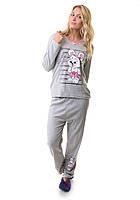 Теплая пижама женская Турция 2122