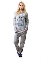 Зимняя женская пижама Турция 2123, фото 1