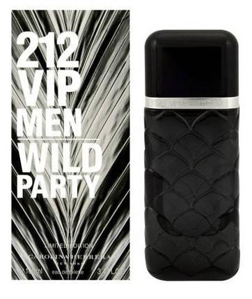 Мужские духи - Carolina Herrera 212 VIP Wild Party Ltd. (edp 100ml), фото 2