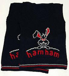 121108 Безрукавка вязанная 'hamham'Зайка