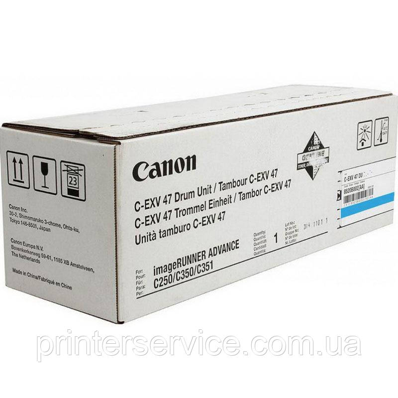 Фотобарабан Canon C-EXV 47 drum cyan для iR-adv 350/ 250