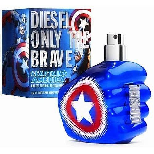 Мужские духи - Diesel Only The Brave Captain America (edp 75ml)