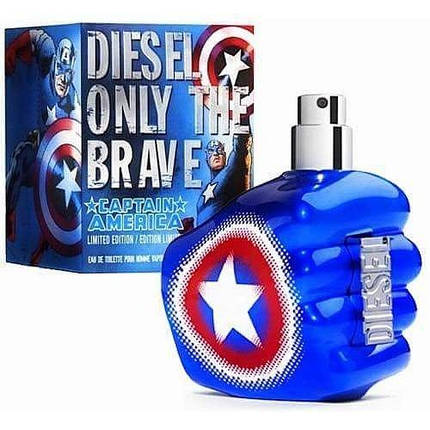 Мужские духи - Diesel Only The Brave Captain America (edp 75ml), фото 2