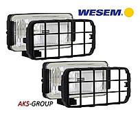 Комплект фар дальнего света 180х86х82 мм Wesem HP2.11047 с решеткой