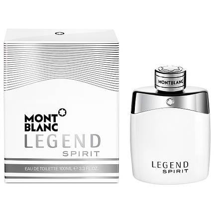 Мужские духи - Montblanc Legend Spirit (edt 100 мл), фото 2
