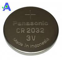 Батарейка Panasonic Lithium CR 2032 для глюкометров Гамма Мини, Бионайм GM110 и Бионайм GM550