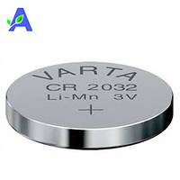 Батарейка Varta Lithium CR 2032 для глюкометров Gamma Mini, Bionime GM 110 и Bionime GM 550