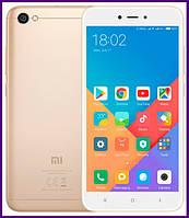 Смартфон Xiaomi redmi note 5A 2/16 GB (GOLD). Гарантия в Украине!
