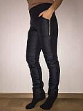Штаны женские болонь, ростовкой, размеры XL, 2XL, 3XL, 4XL №4002