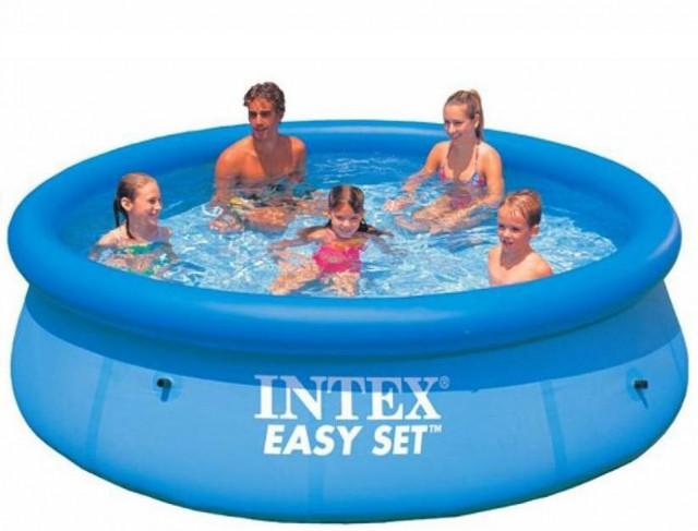 Семейные надувные (наливные) бассейны Intex