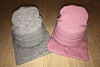 Стильный молодёжный набор шапка и хомут