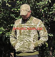 Свитер ВСУ армейский (ММ-14). Военная кофта камуфляж. Новый