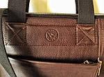 Деловой портфель женский VS111 brown 38х28х3 см, фото 4