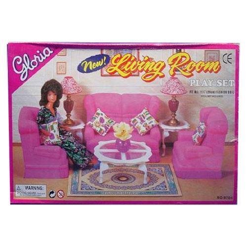 """Детская мебель для куклы """"Гостиная"""" 9704 ТМ Gloria"""