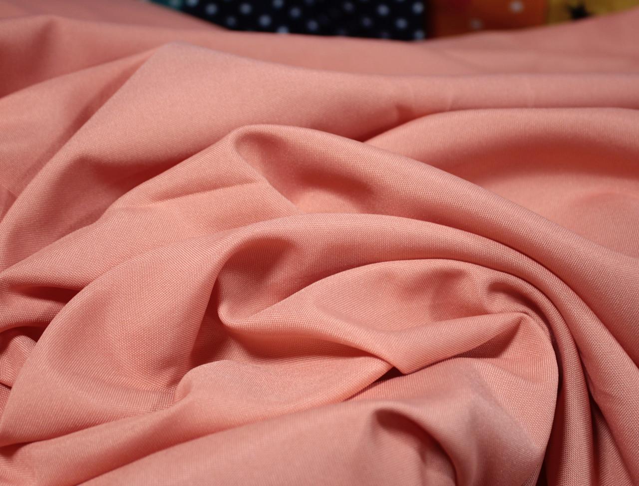 Костюмная ткань габардин персиковый