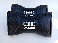 Подушки на подголовник  с логотипом автомобиля Audi
