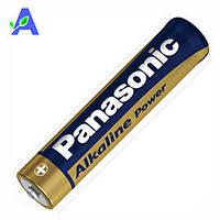 Батарейка Panasonic Alkaline ААА для глюкометров Гамма Спикер, Гамма Даймонд, Гамма Прима и Бионайм GM300