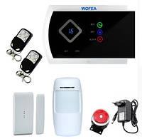 Беспроводная GSM сигнализация G10A (Android, IOS)