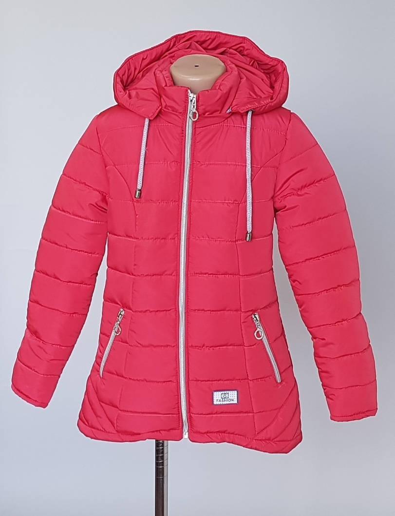 Детская курточка с капюшоном 140 рост