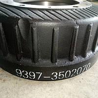Барабан тормозной МАЗ полуприцепа 9397-3502070