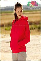 Женская кенгурушка с капюшоном теплая с начесом 62-038-0, фото 2