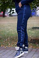 Женский утепленные штаны батал из трехнитки на флисе 1015188