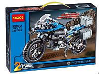 Конструктор Decool 3369A Приключения на BMW R 1200 GS 2в1 (аналог Lego Technic 42063)
