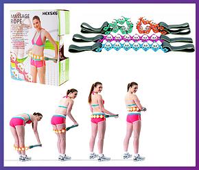 Массажер-лента роликовый Massage Rope, фото 2