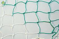 Шнур 4,5 мм. Ячейка 12 см. Сетка заградительная оградительная защитная на окна для спортзалов