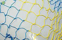 Шнур 4,5 мм. Ячейка 10 см. Сетка заградительная оградительная защитная на окна для спортзалов