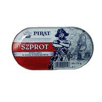 Pirat Szprot - шпроты в томате 170 грамм