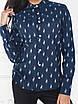 Рубашка Агата классика темно-синяя, фото 2