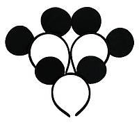Обруч с ушками Микки Маус черный