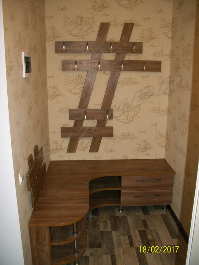 """Прихожая """"Геометрия"""" - ЛИАНДР — дизайн и изготовление корпусной мебели на заказ в Виннице"""