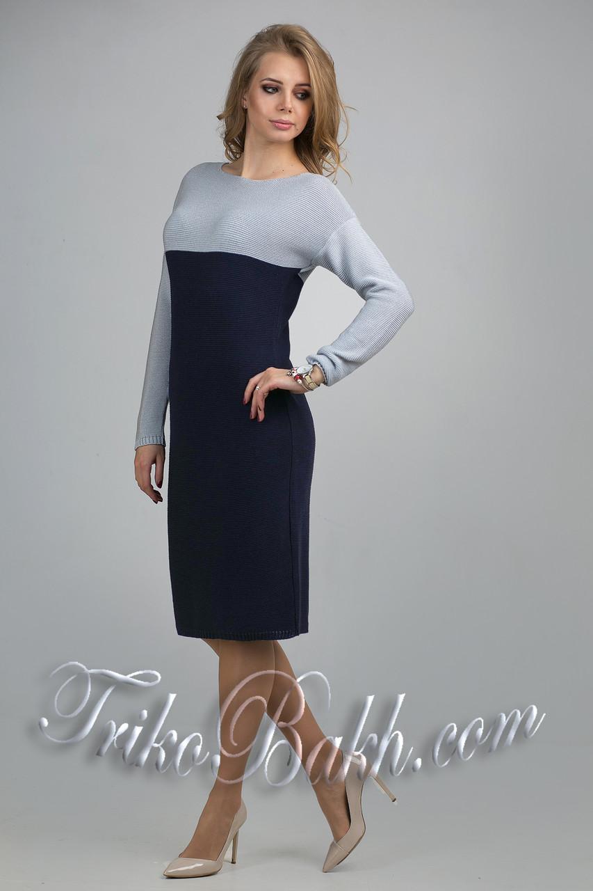 96476ef9aff Теплое женское зимнее офисное платье - VK-Style в Киеве