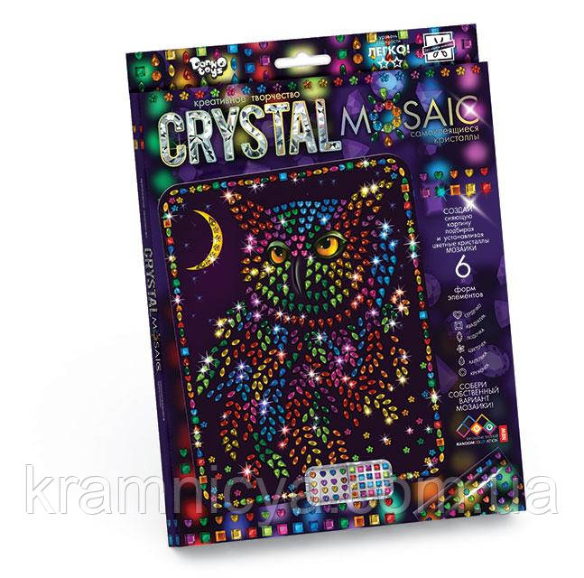 Кристальная мозаика Сова (CRM-01-06), детская серия