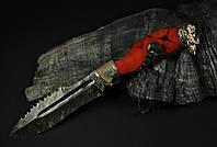 """Авторский нож ручной работы """"Варвар"""", дамасск (наличие уточняйте)"""