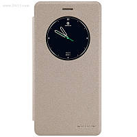 Чехол Nillkin Sparkle Leather Case для Lenovo A7020 (K5 Note) Shampaign Gold