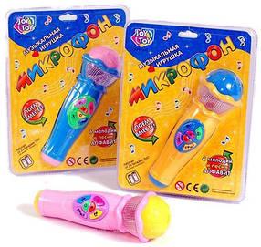 Музыкальный микрофон Joy Toy 7043 со световыми эффектами