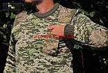 Свитер ВСУ армейский (ММ-14). Военная кофта камуфляж. Новый, фото 5
