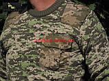 Свитер ВСУ армейский (ММ-14). Военная кофта камуфляж. Новый, фото 7